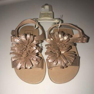 BabyGap infant girl sandals size 6